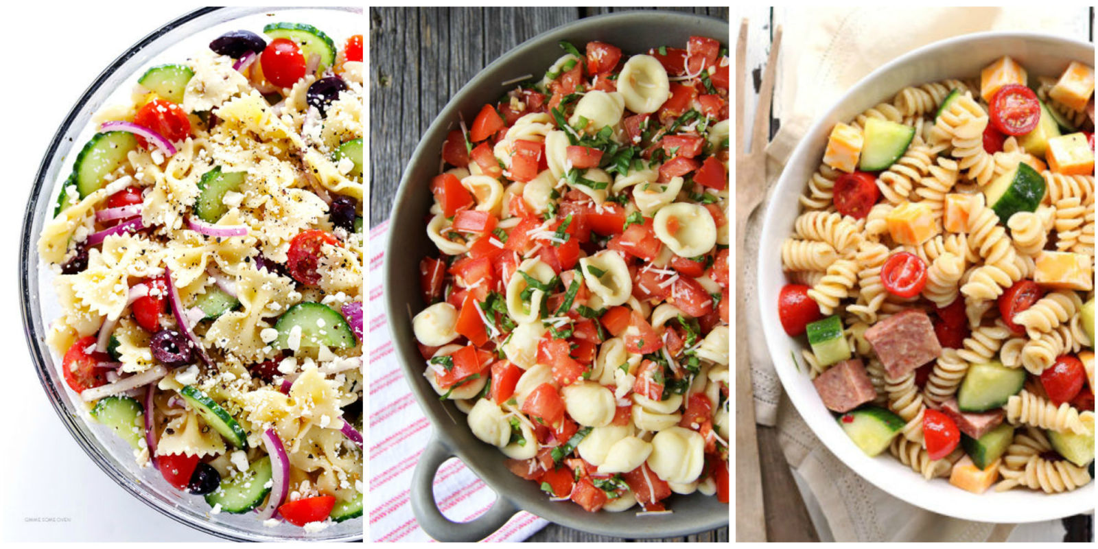30 easy pasta salad recipes best cold pasta dishes for Cold pasta salad ideas