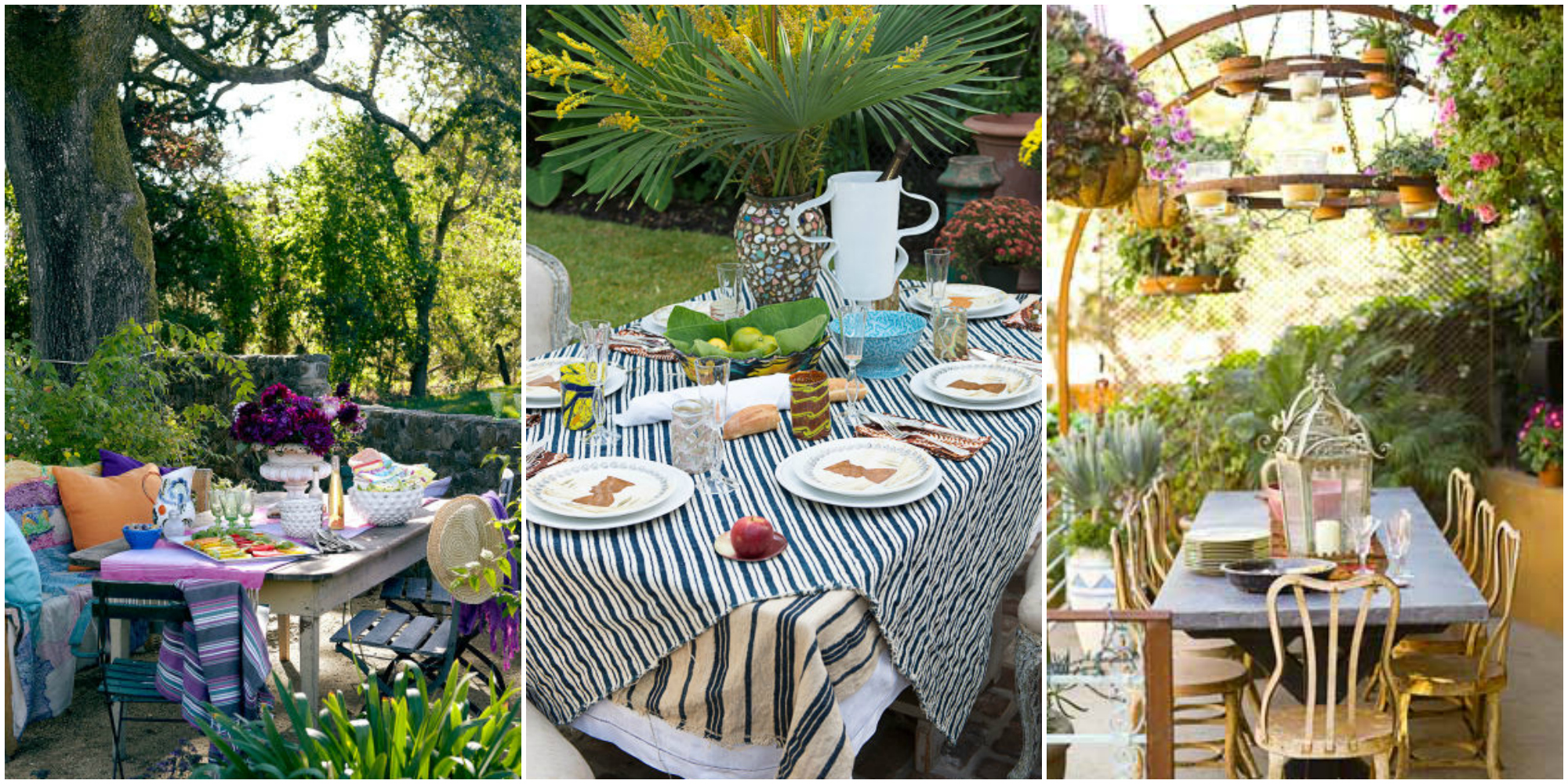 40 fun summer party ideas themes and decorations for for Outdoor dinner party decorating ideas