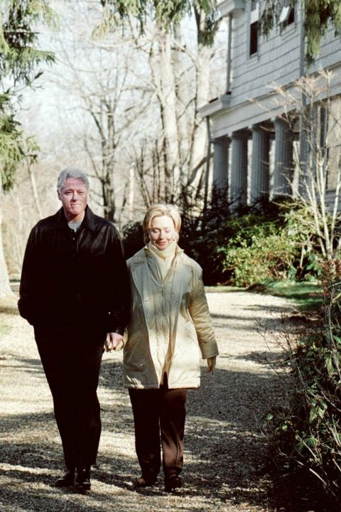 Hillary Clinton House In Chappaqua Ny Pictures Of