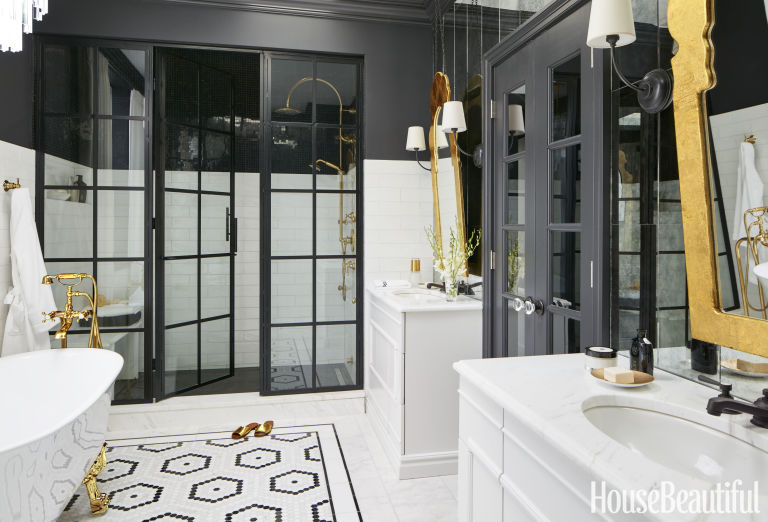 House Beautiful Bathroom bathroom of the month june 2016 - suzann kletzien bathroom