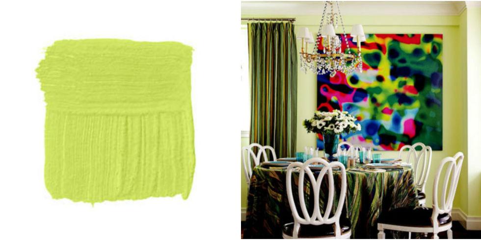 Best Green Paint Colors 12 summer paint colors - best color schemes and designer paint