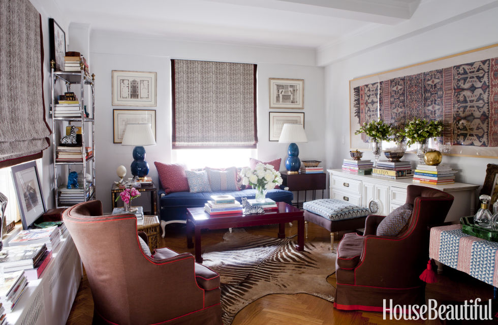 700 Square Feet Apartment lindsey coral harper's new york apartment -colorful decorating