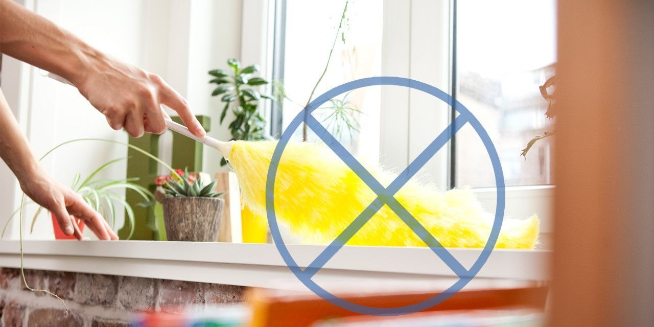 How to clean your living room in 5 minutes - 9 Mistakes That Make Cleaning Your House Harder