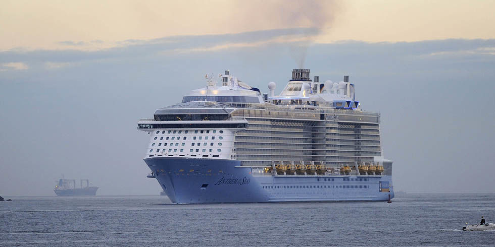 Biggest Cruise Ships In The World  The World39s Largest Cruise Ships