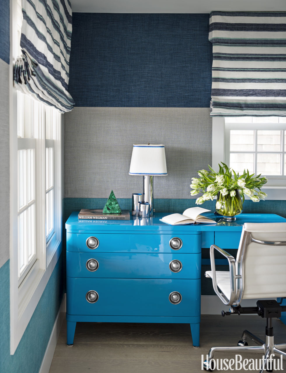 The House Beautiful 60+ best home office decorating ideas - design photos of home