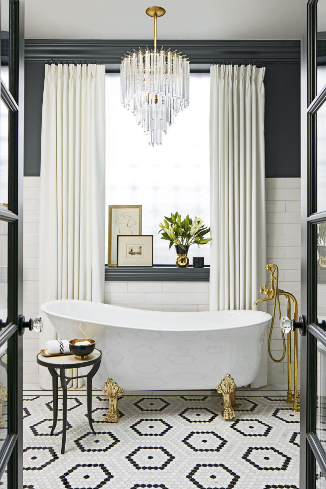 Claw footed tub design ideas
