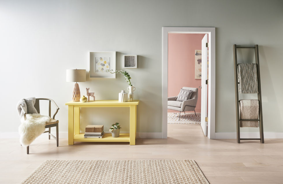 2017 color trends: dusted yellow