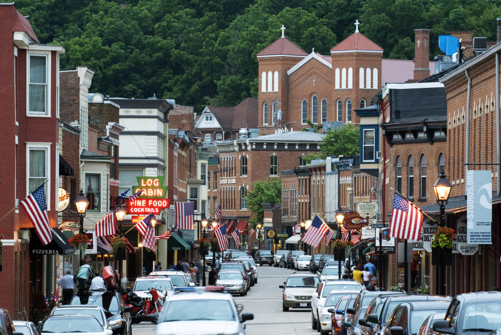 Image Gallery American Towns