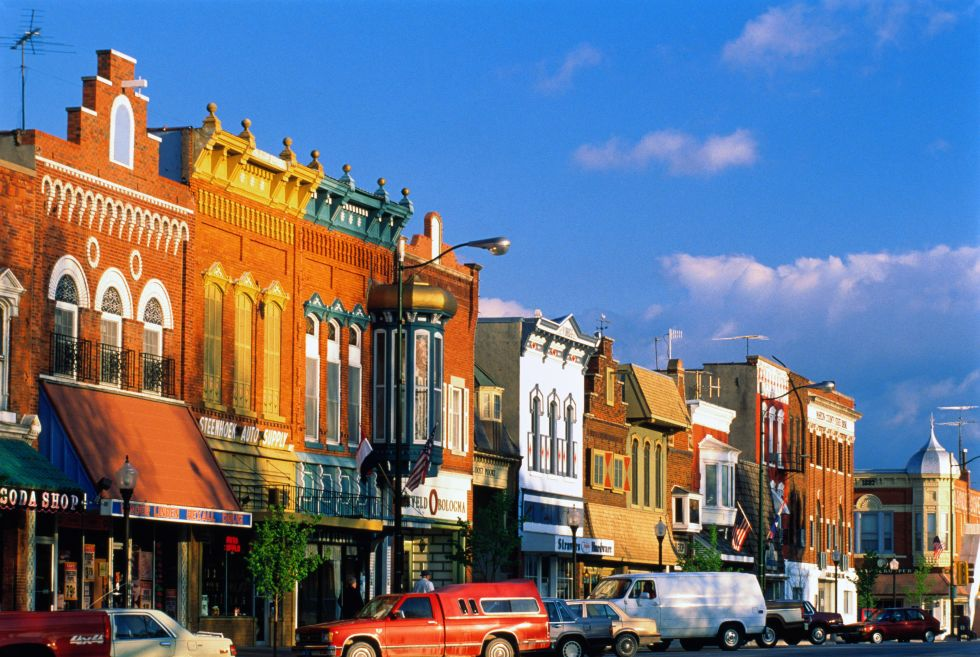 Small American Town Vacation Ideas The Best Small Town Vacation - Us quaint towns map