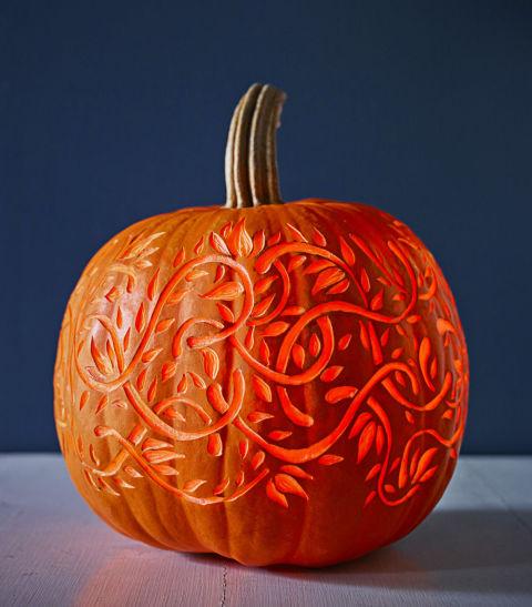 Small Pumpkin Decorations: 40+ Cool Pumpkin Carving Designs