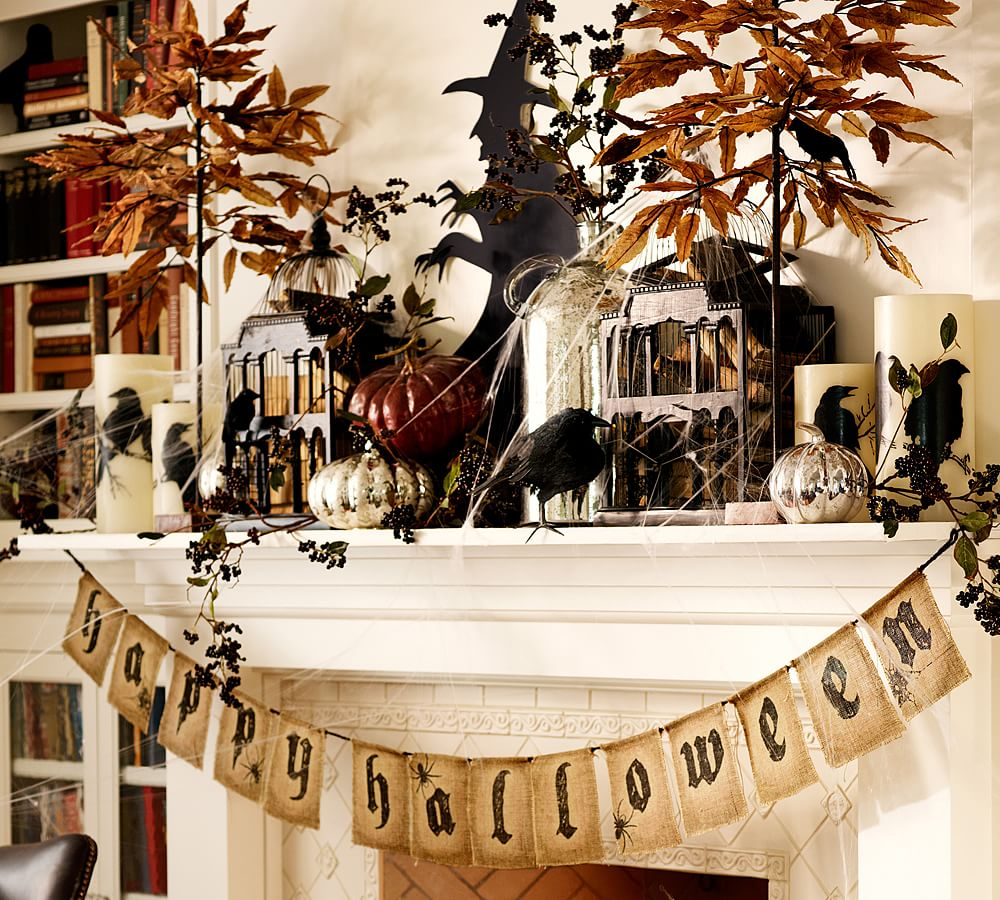 Classy Halloween Decorations: 20 Elegant Halloween Home Decor Ideas