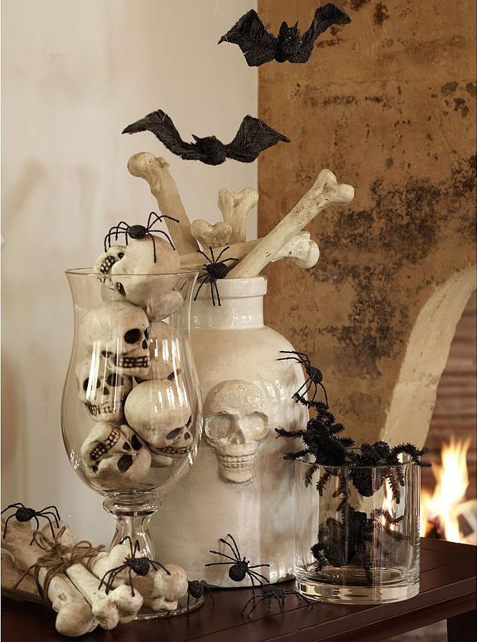 Classy Halloween Decorations 20+ elegant halloween home decor ideas - how to decorate for halloween
