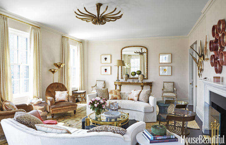 colorful decorating advice from celerie kemble - home design and