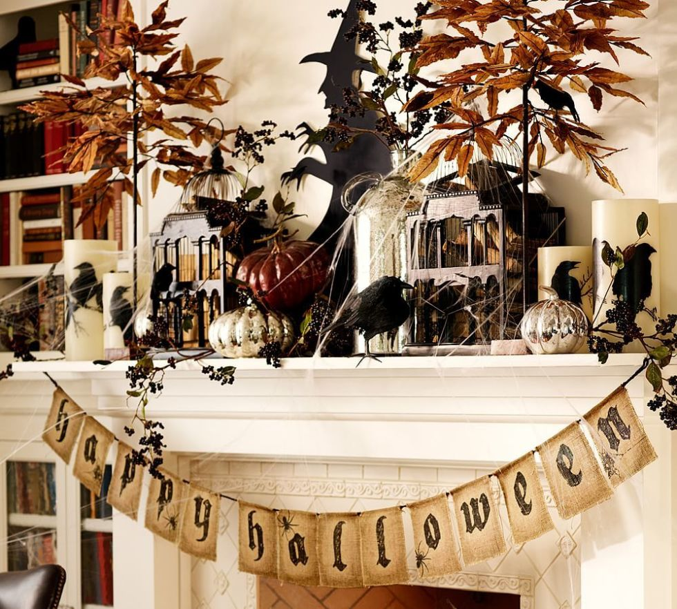 halloween banner - Sophisticated Halloween Decorations