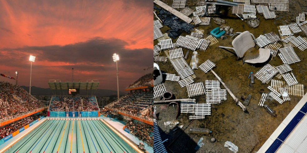 What Old Olympics Venues Look Like Today - Abandoned Olympic Venues