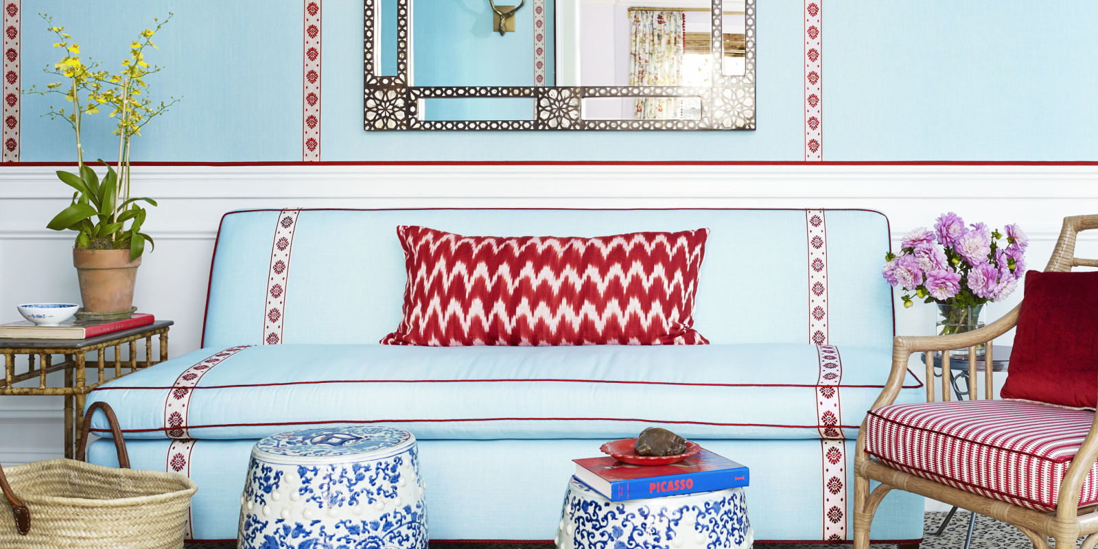 Colorful Decorating Advice Interior Designer Mark D Sikes