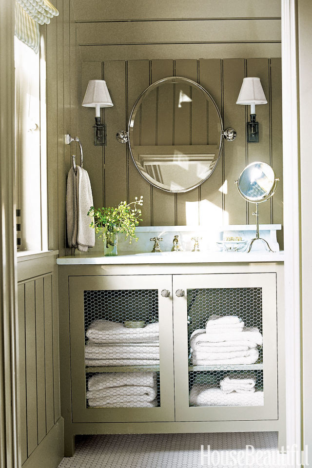 Rustic Bathroom Vanity Design