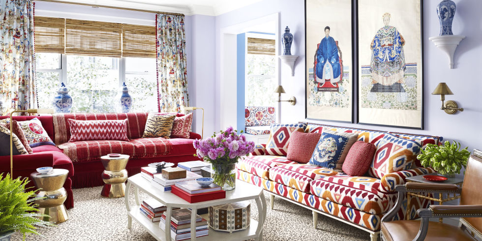 Mark Sikes colorful decorating advice - interior designer mark d. sikes