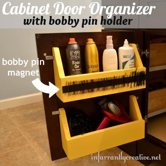 - Cabinet Door Storage Ideas - Organization Tricks For Cabinets