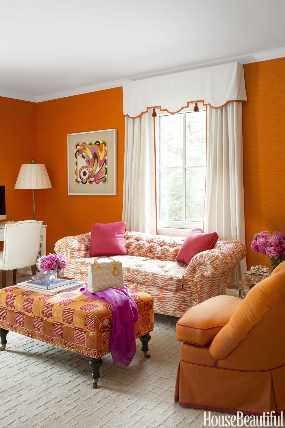 25 best paint colors ideas for choosing home paint color - House Beautiful Living Room Colors