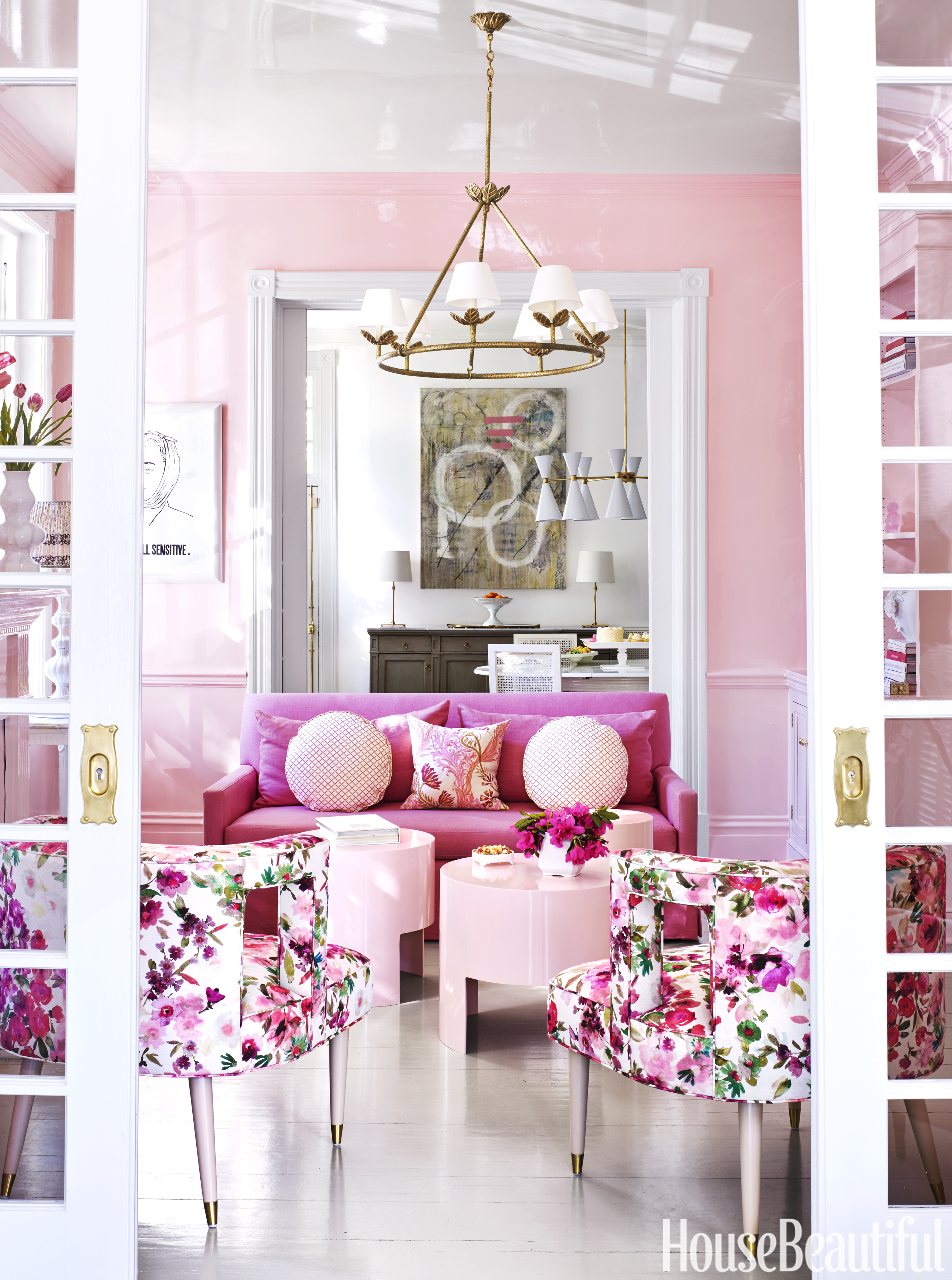 Pink Home Decor - Pink Decorating Ideas