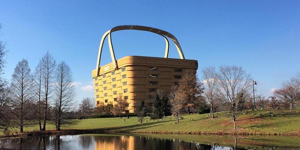 Longaberger Basket Building For Sale   No One Wants The Longaberger Basket  Building