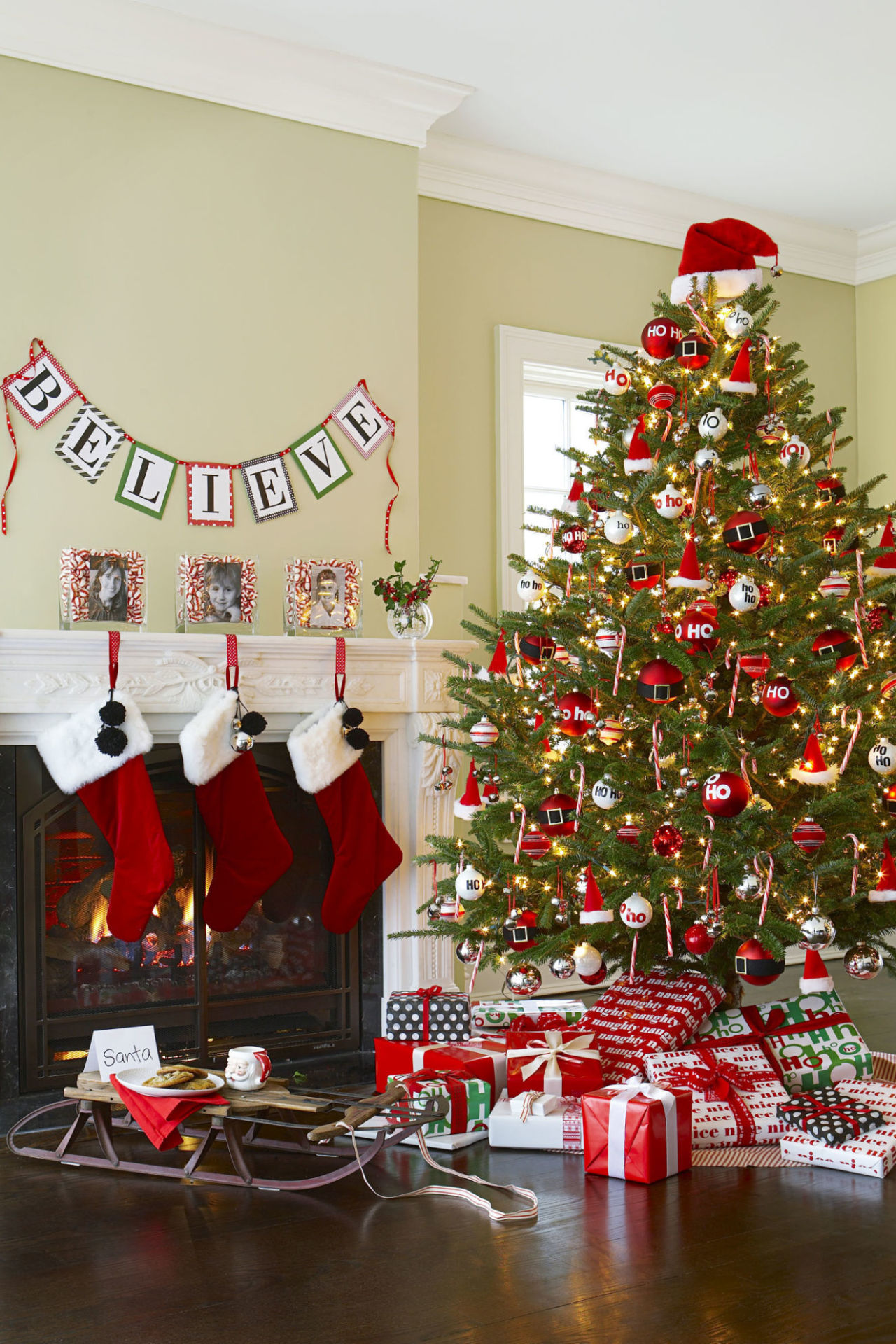 Christmas tree decorations images - 35 Christmas Tree Decoration Ideas Pictures Of Beautiful Christmas Trees