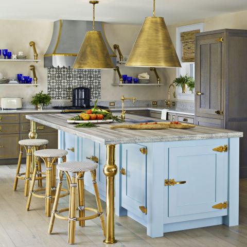 House Beautiful  Impossibly Chic Kitchen Backsplashes