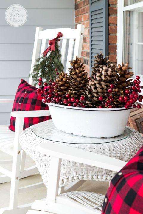 Christmas Porch Decorating Ideas 25 best outdoor christmas decorations - christmas yard decorating