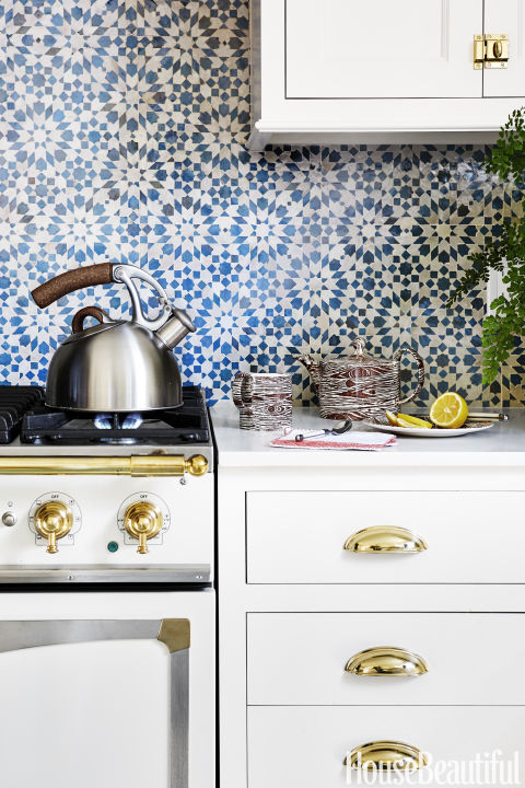 White Kitchen Yellow Backsplash 50 best kitchen backsplash ideas - tile designs for kitchen