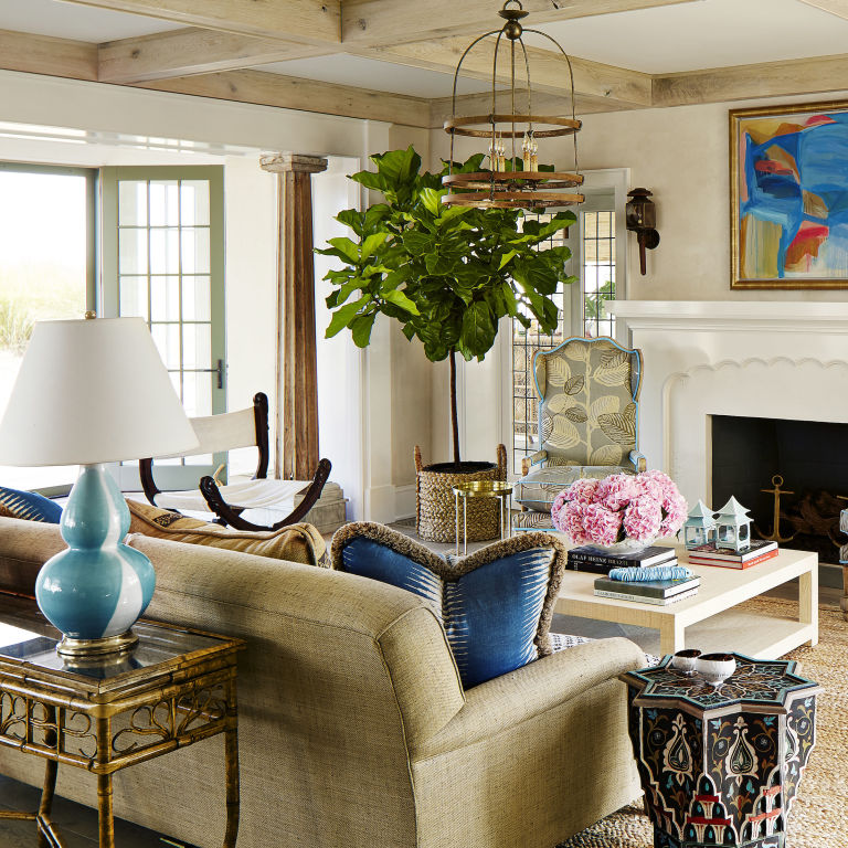 Home Tour Christian Siriano S Connecticut Home: Colleen Bashaw Interior Design