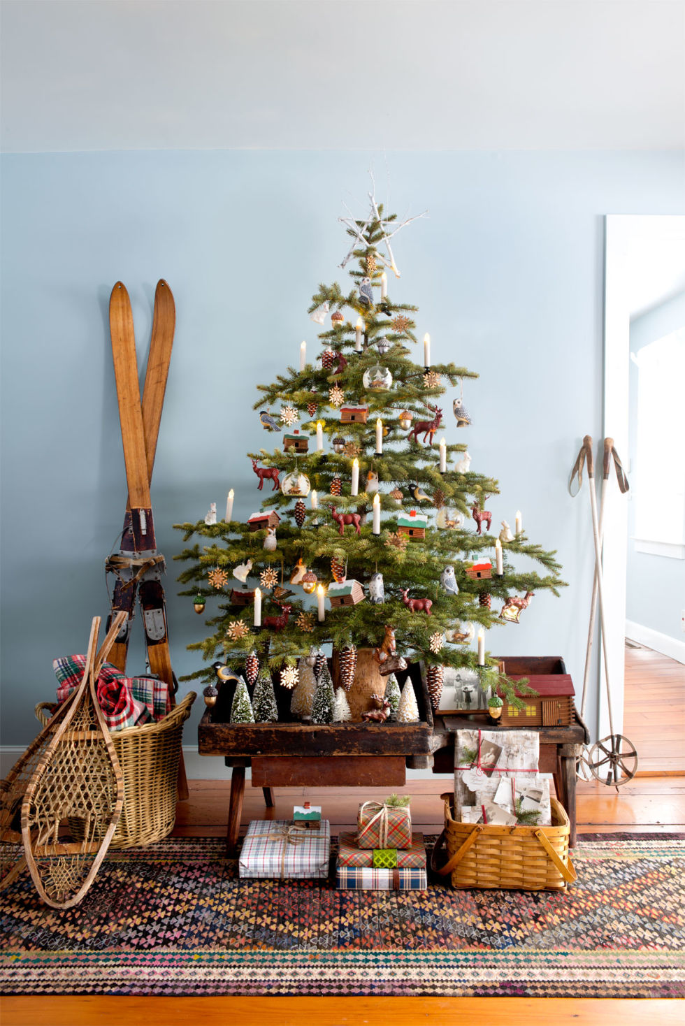 Christmas Tree Pictures 35 christmas tree decoration ideas - pictures of beautiful