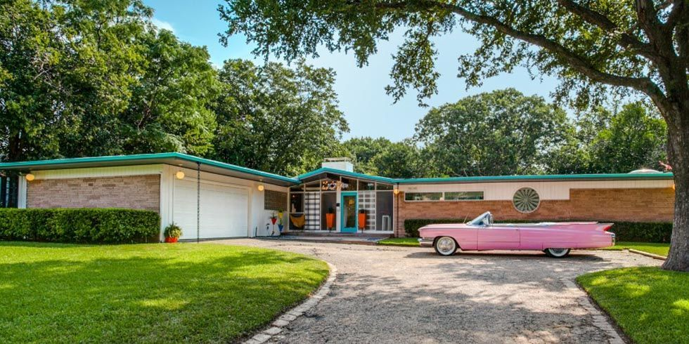 1950s Time Capsule Home Retro Dallas Home For Sale