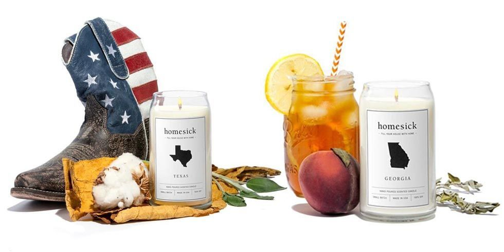 homesick candles candles that smell like states