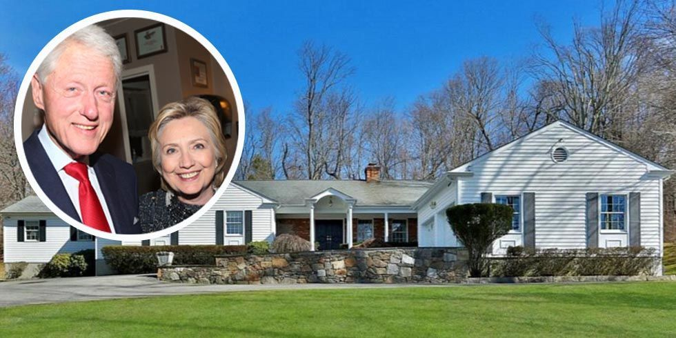 Bill And Hillary Clinton Chappaqua Home Clintons 39 New