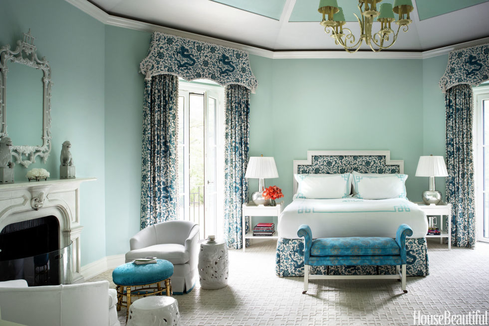 blue - Colors For Walls In Bedrooms