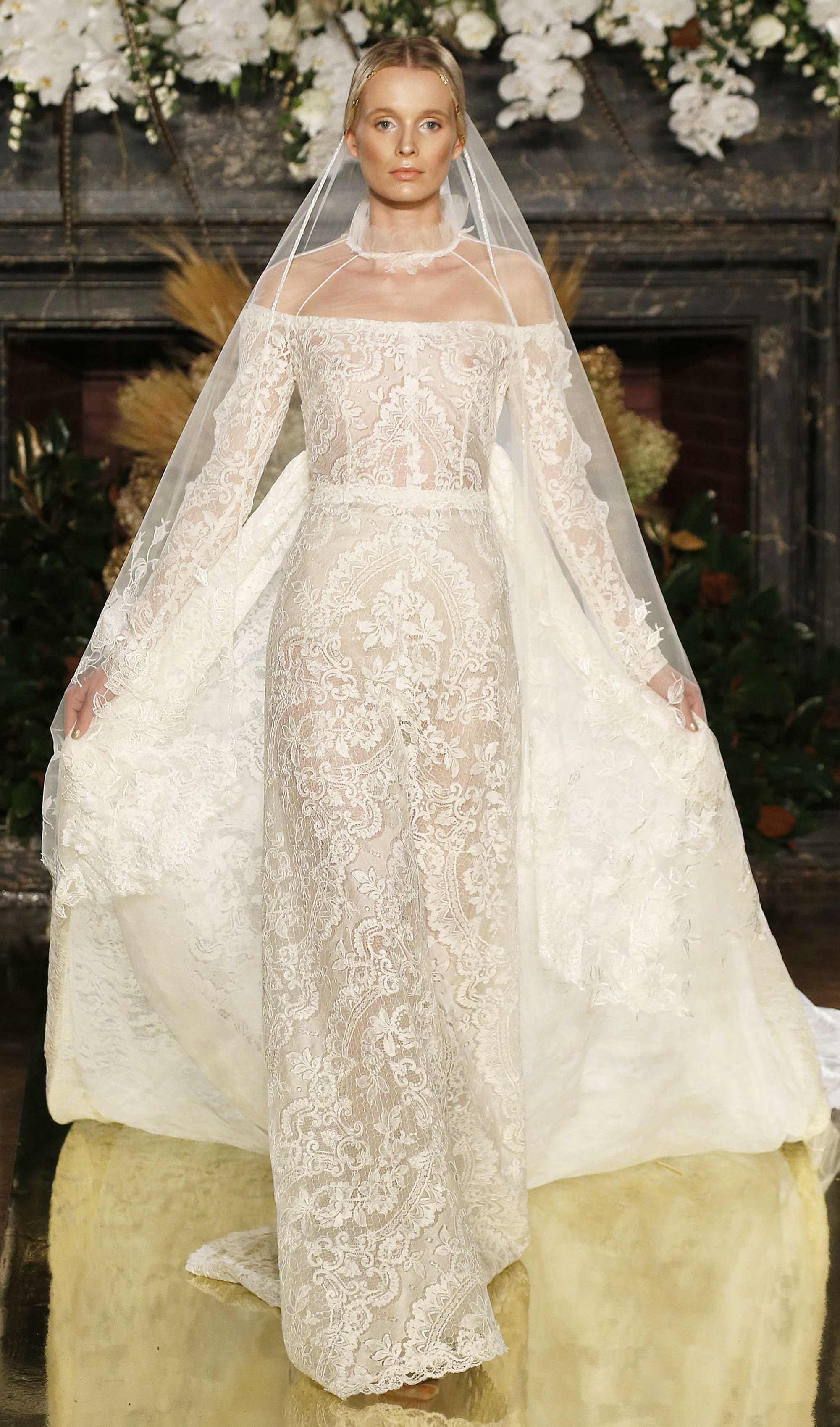 The most beautiful wedding dresses from new york bridal for Most gorgeous wedding dresses