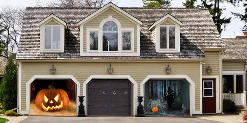 Garage Halloween Decorations My Web Value