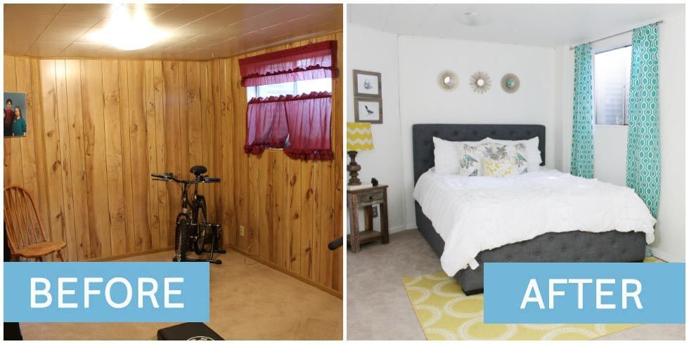 Bedroom Makeovers Before And After these bedroom makeovers will wow you