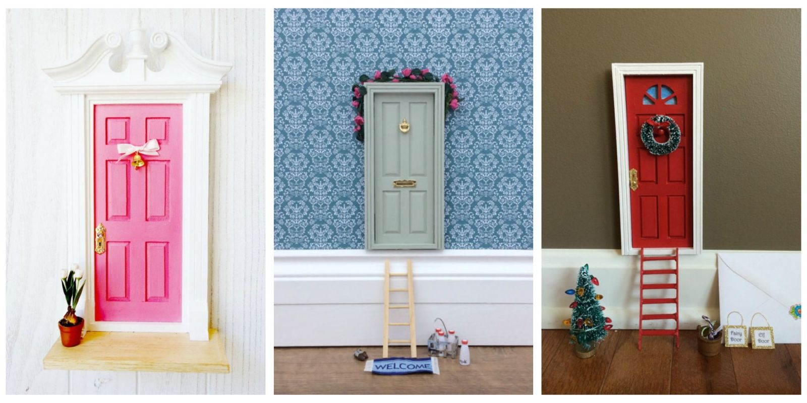 10 enchanting fairy doors you 39 ll want in your own home for Real fairy doors