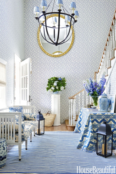 Formal Foyer Wallpaper : Foyer decorating ideas design pictures of foyers