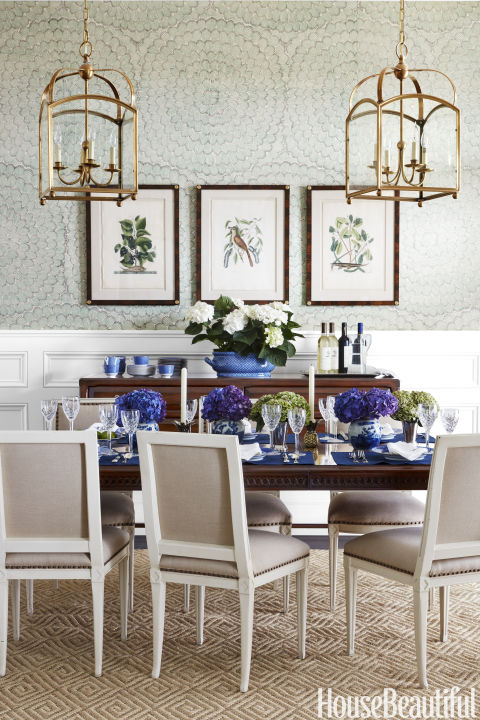 Beautiful Blue Dining Rooms: 85+ Best Dining Room Decorating Ideas And Pictures