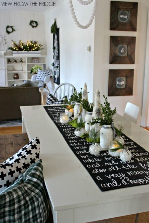 holiday tablescape. beautiful ideas. Home Design Ideas
