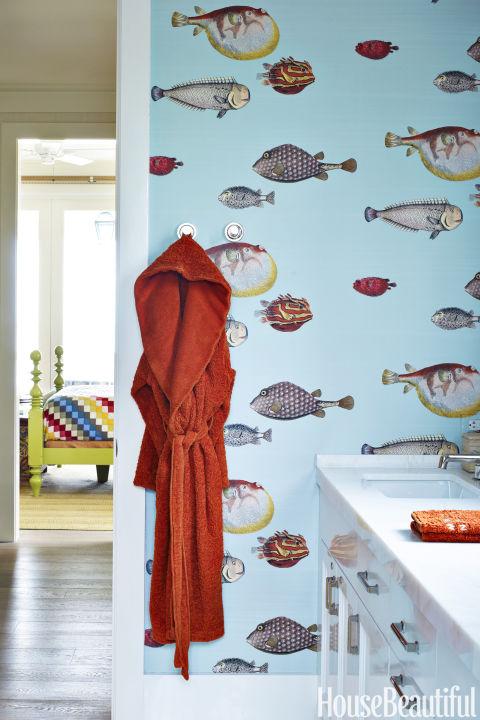 135 best bathroom design ideas decor pictures of stylish - Amy reid wallpaper ...