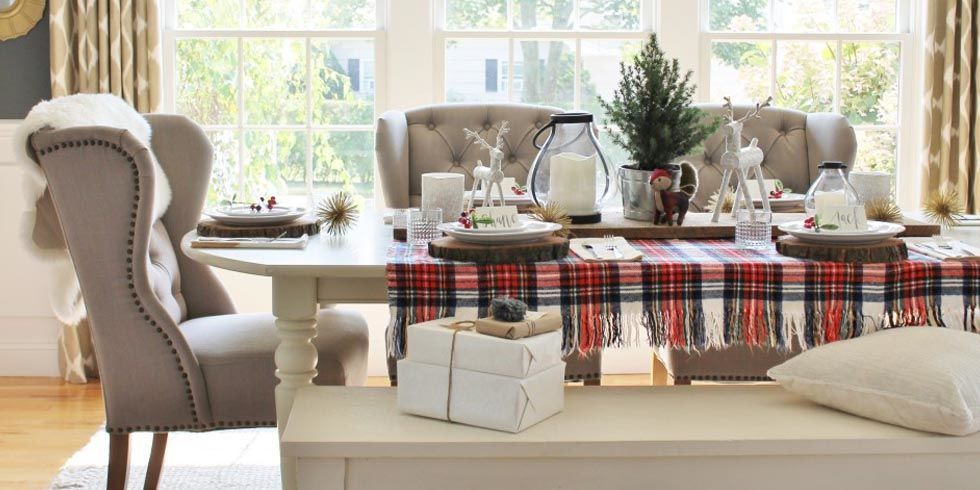 35 photos - Christmas Dining Room Table Centerpieces