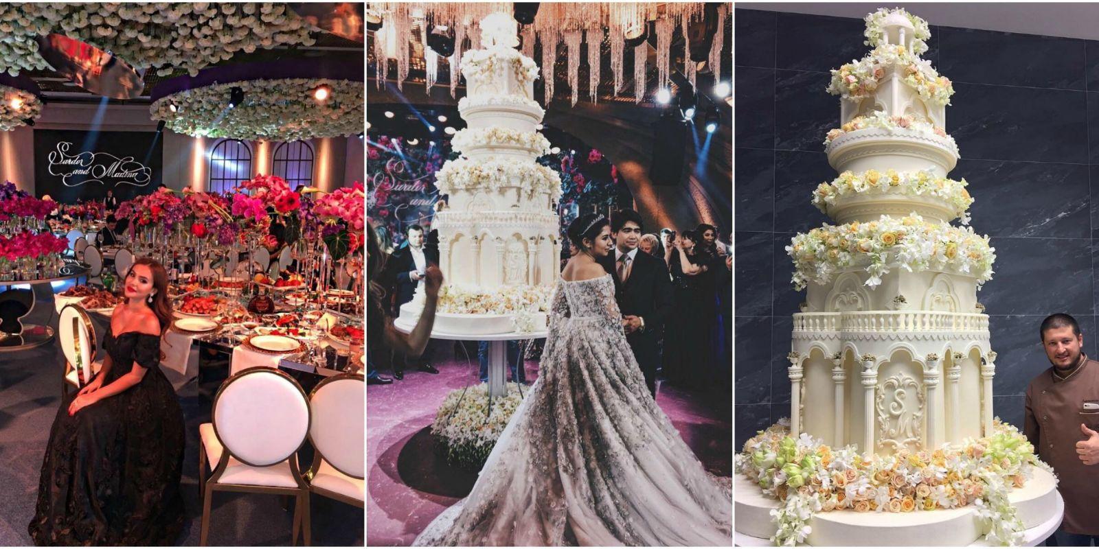 Extravagant Russian Wedding Billionaire Throw Expensive