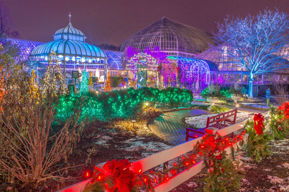 9 Botanical Gardens That Are More Beautiful at NightBotanical