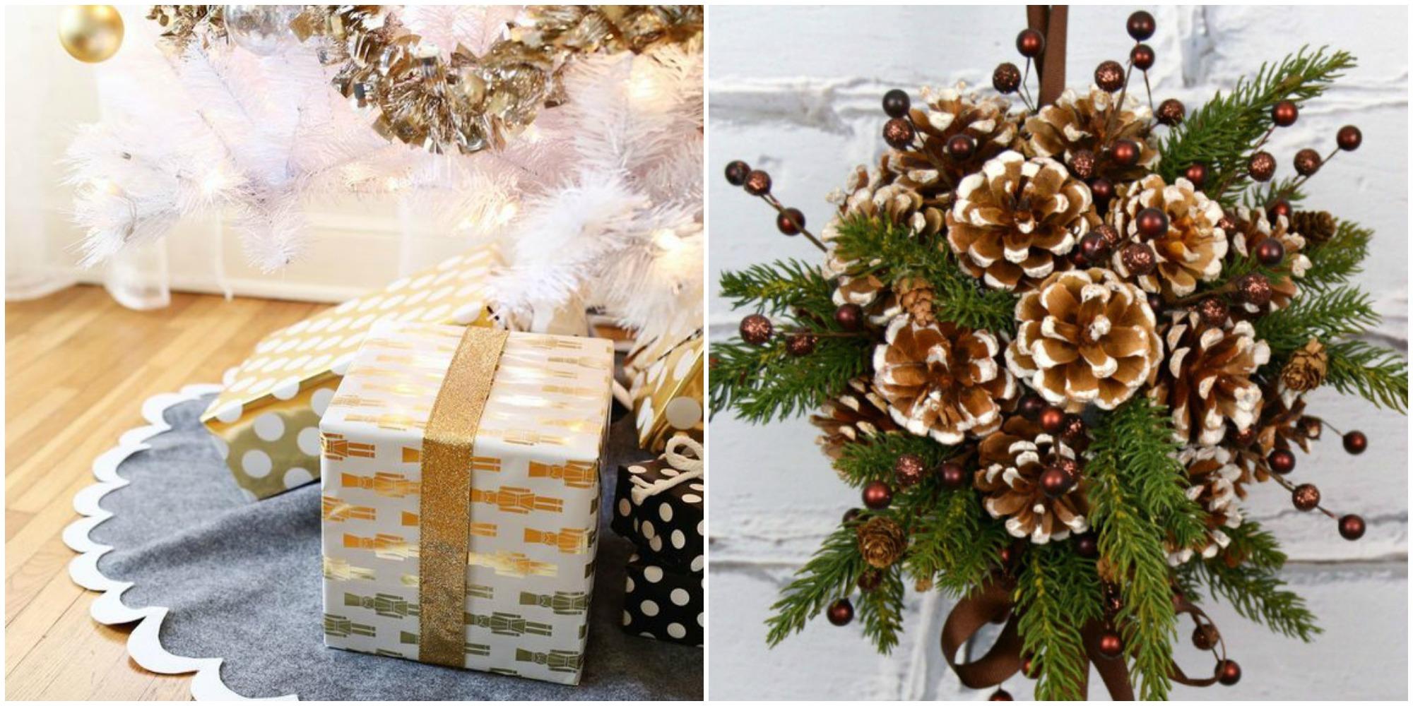 Christmas Tree Ideas Homemade : Easy diy christmas decorations homemade ideas for
