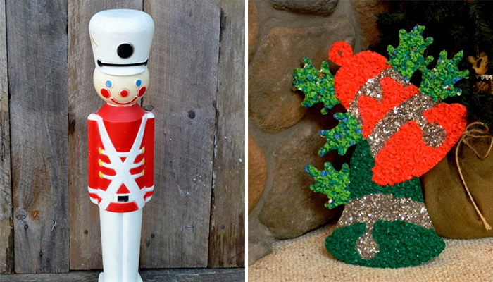 12 vintage christmas decorations - classic holiday decorating