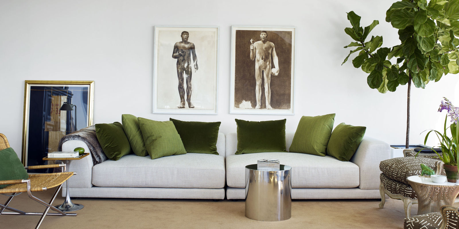 Tom Scheerer 39 S Manhattan Apartment Curated And Staged Decor